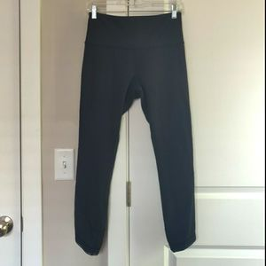 Lululemon Deep Breath Crop Legging Tight